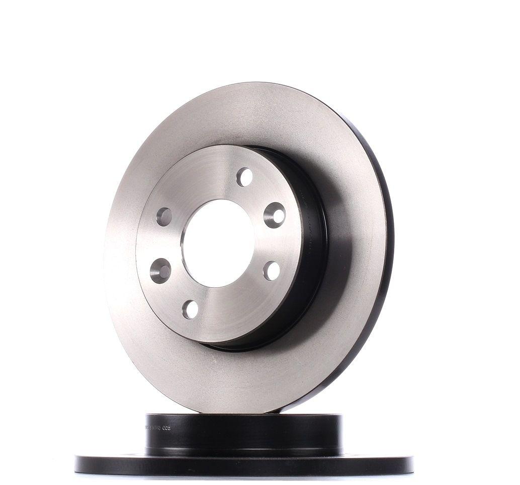 Achetez Disques de frein TRW DF1013 (Ø: 238mm, Nbre de trous: 4, Épaisseur du disque de frein: 12mm) à un rapport qualité-prix exceptionnel