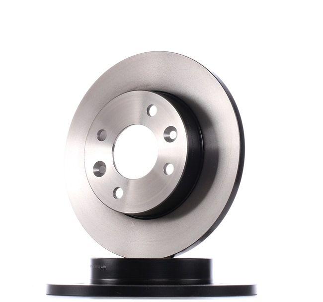 DF1013 TRW Voll, lackiert Ø: 238mm, Lochanzahl: 4, Bremsscheibendicke: 12mm Bremsscheibe DF1013 günstig kaufen