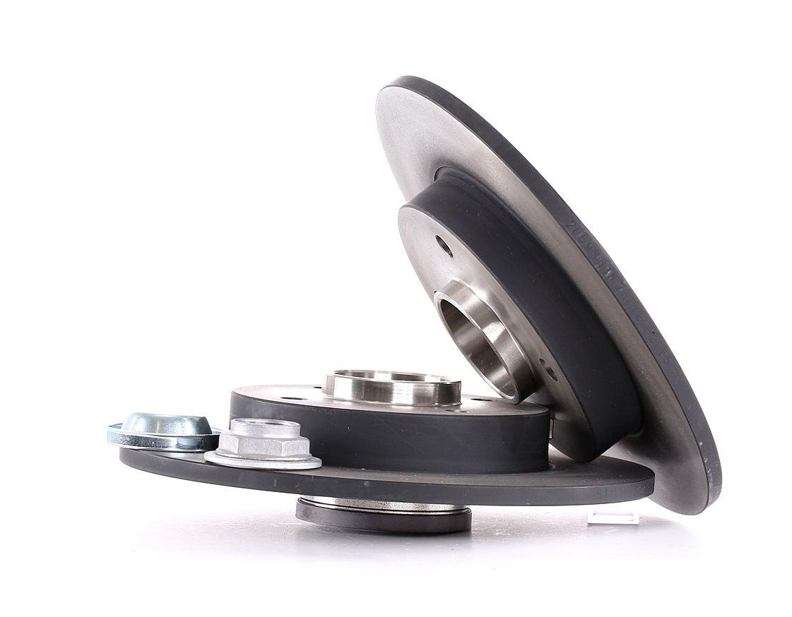 Achetez Disque de frein TRW DF2059BS (Ø: 250mm, Nbre de trous: 4, Épaisseur du disque de frein: 9mm) à un rapport qualité-prix exceptionnel