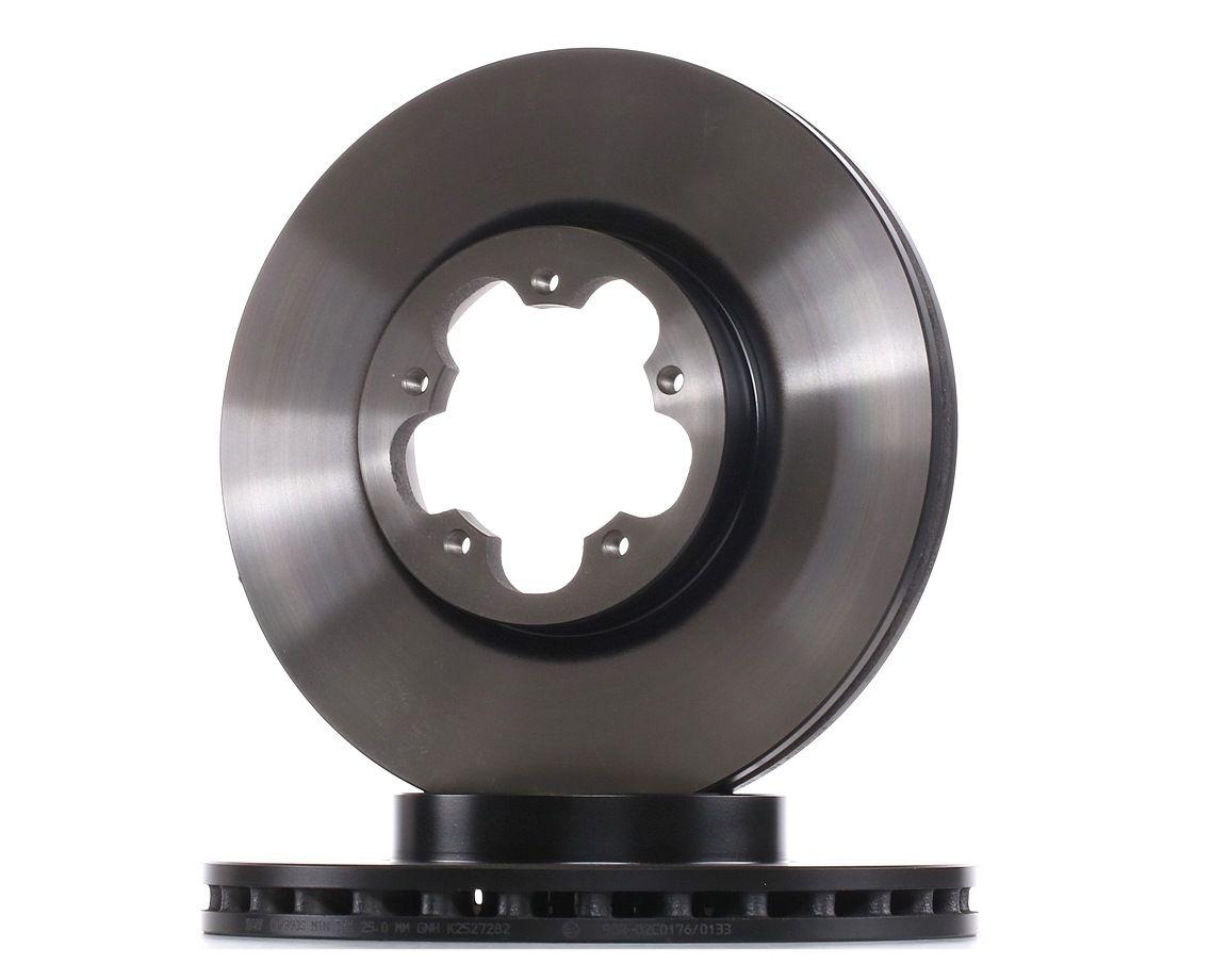 Комплект спирачни дискове DF2390S с добро TRW съотношение цена-качество