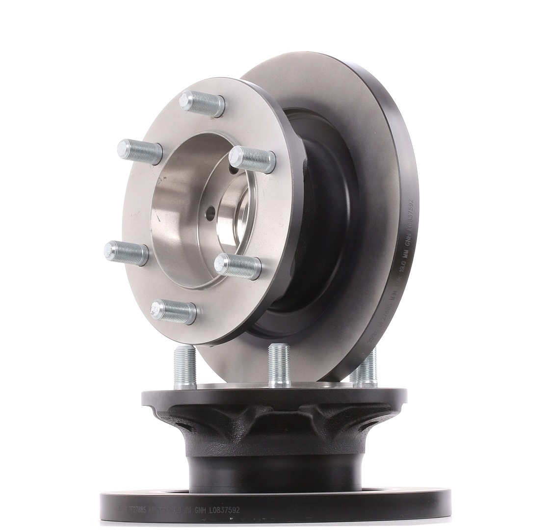 TRW: Original Bremsscheibe DF2788S (Ø: 290mm, Lochanzahl: 6, Bremsscheibendicke: 22mm)