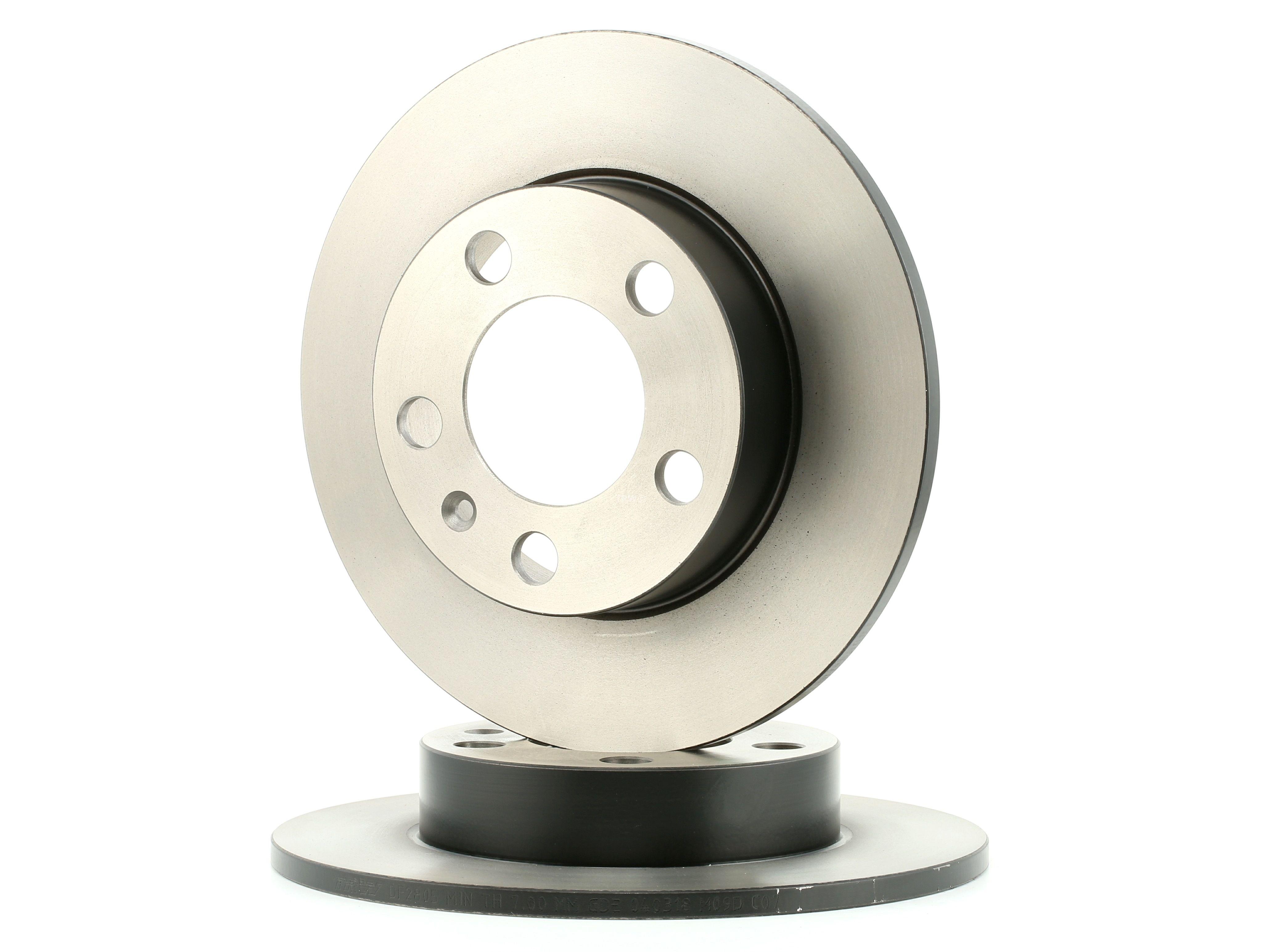 Achetez Disque de frein TRW DF2805 (Ø: 230mm, Nbre de trous: 5, Épaisseur du disque de frein: 9mm) à un rapport qualité-prix exceptionnel