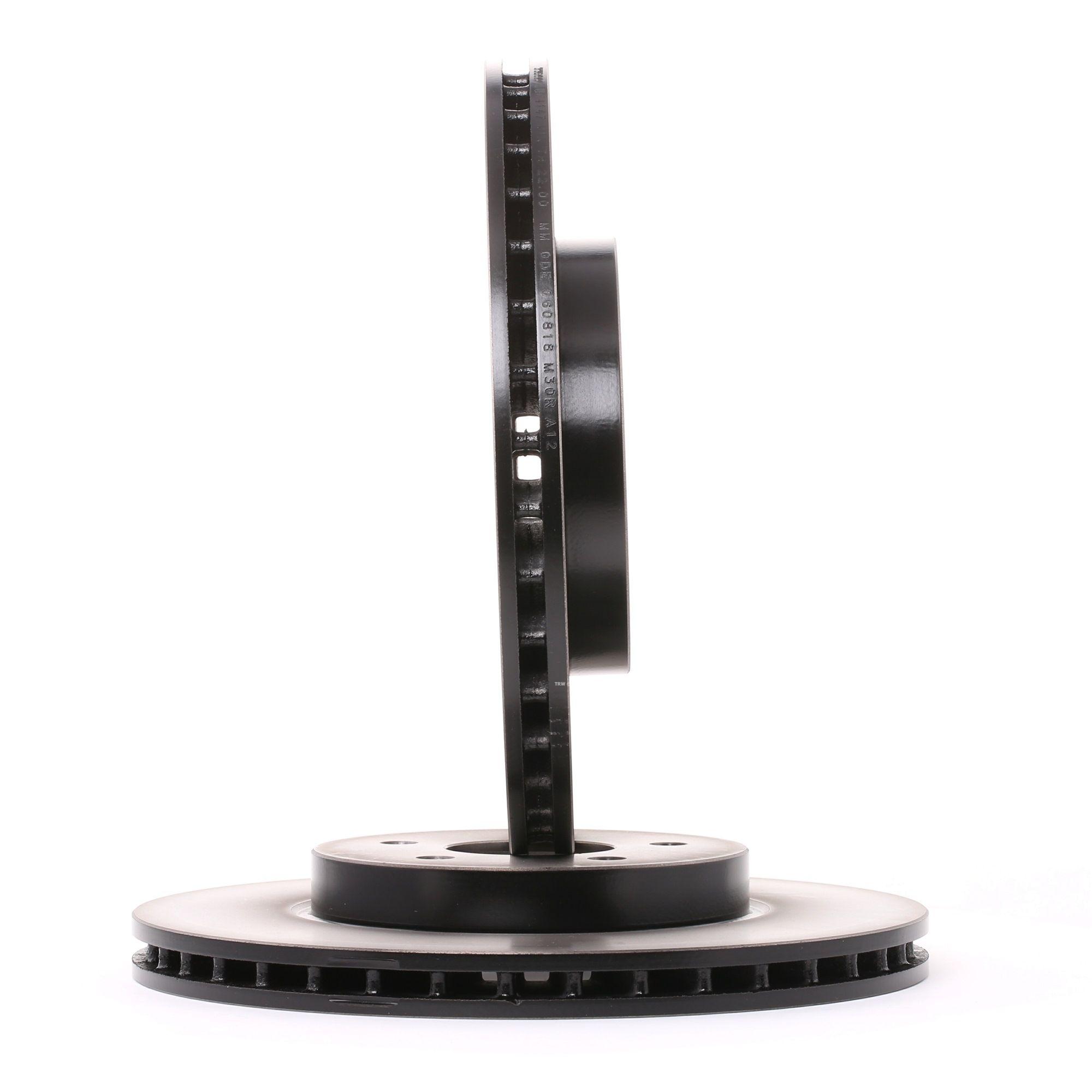 Origine Freinage TRW DF4147 (Ø: 300mm, Nbre de trous: 5, Épaisseur du disque de frein: 24mm)