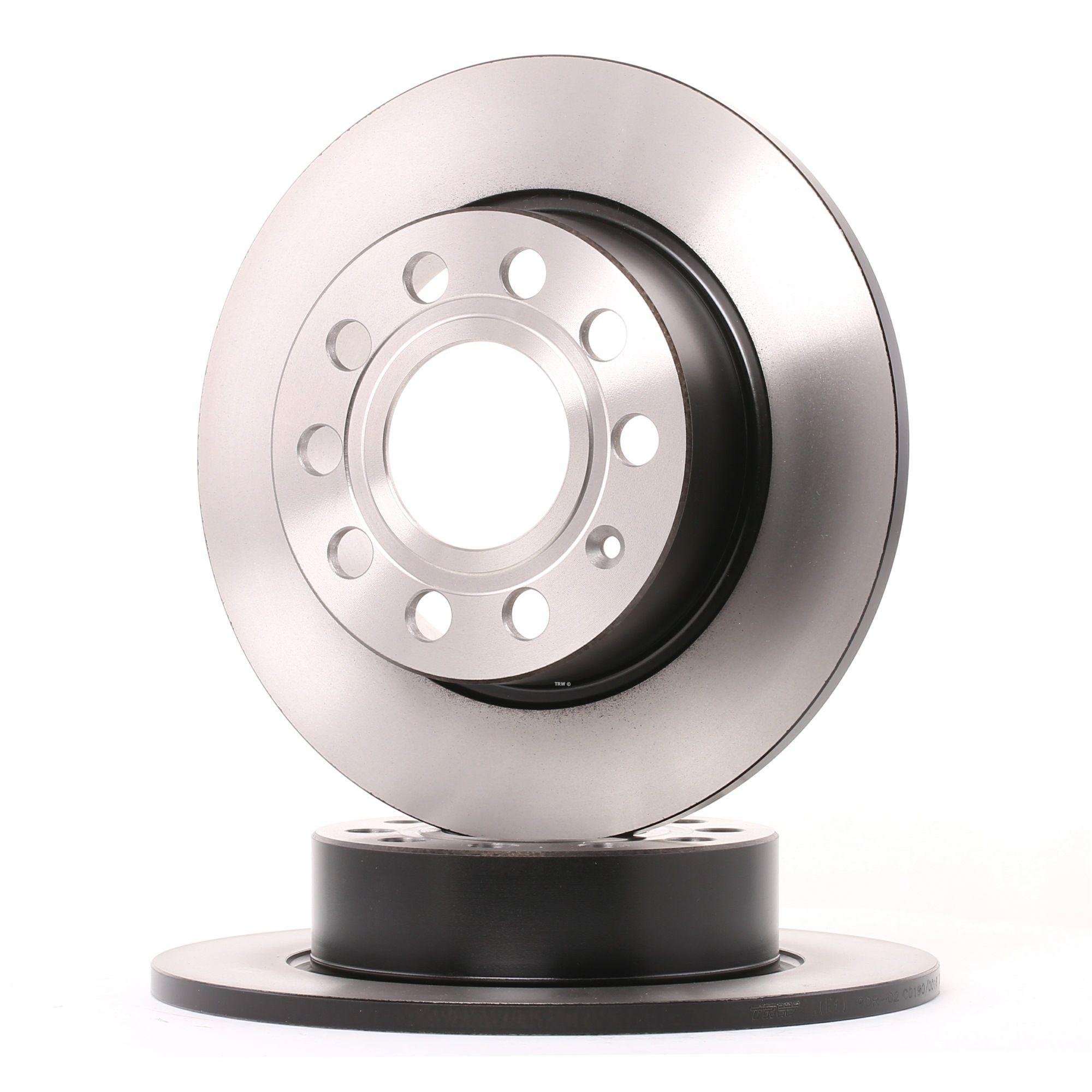 Achetez Disque de frein TRW DF4276 (Ø: 253mm, Nbre de trous: 9, Épaisseur du disque de frein: 10mm) à un rapport qualité-prix exceptionnel