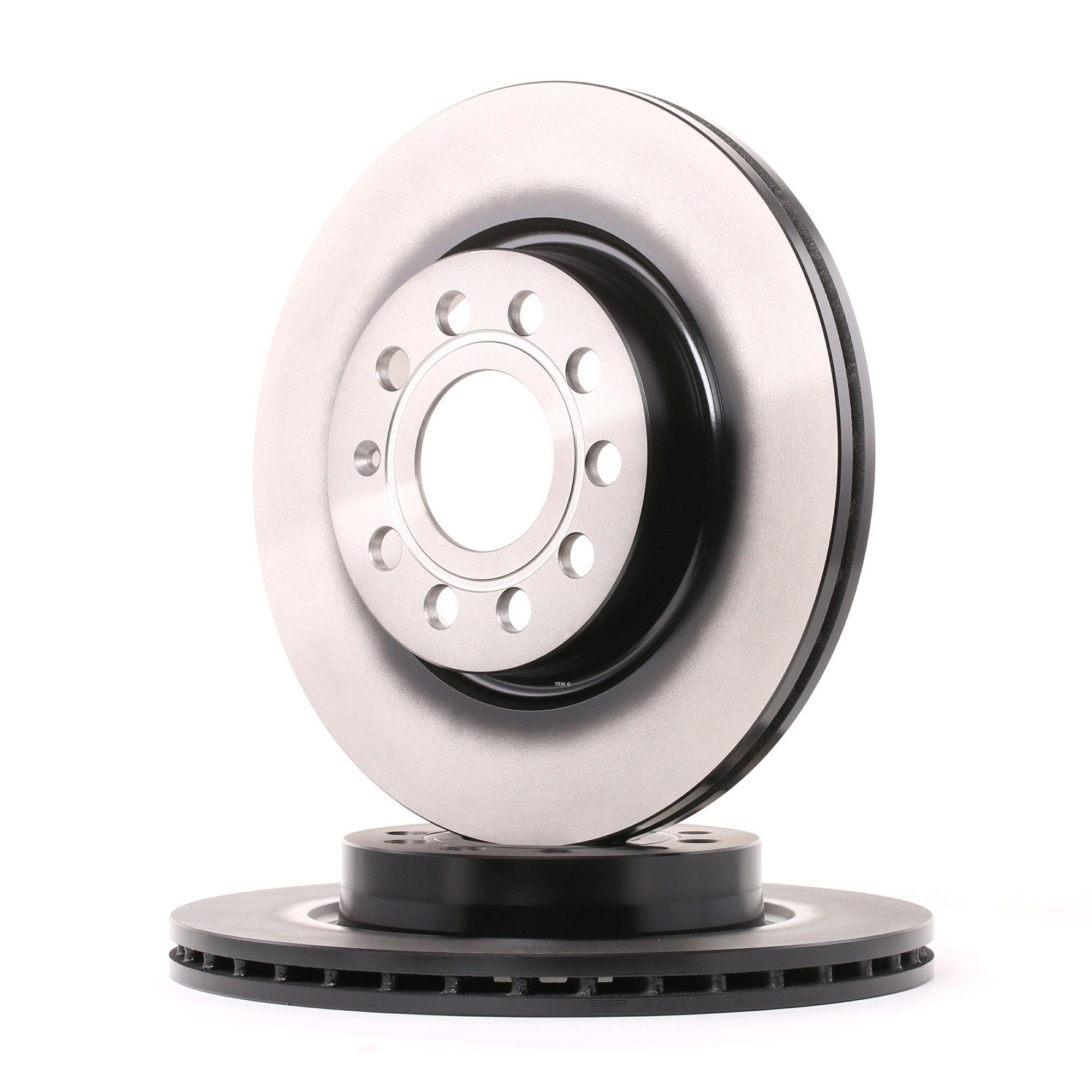 Achetez Disque TRW DF4294 (Ø: 280mm, Nbre de trous: 9, Épaisseur du disque de frein: 22mm) à un rapport qualité-prix exceptionnel