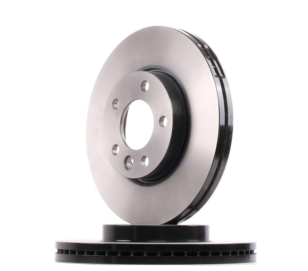 Achetez Disque TRW DF4308S (Ø: 308mm, Nbre de trous: 5, Épaisseur du disque de frein: 29,5mm) à un rapport qualité-prix exceptionnel