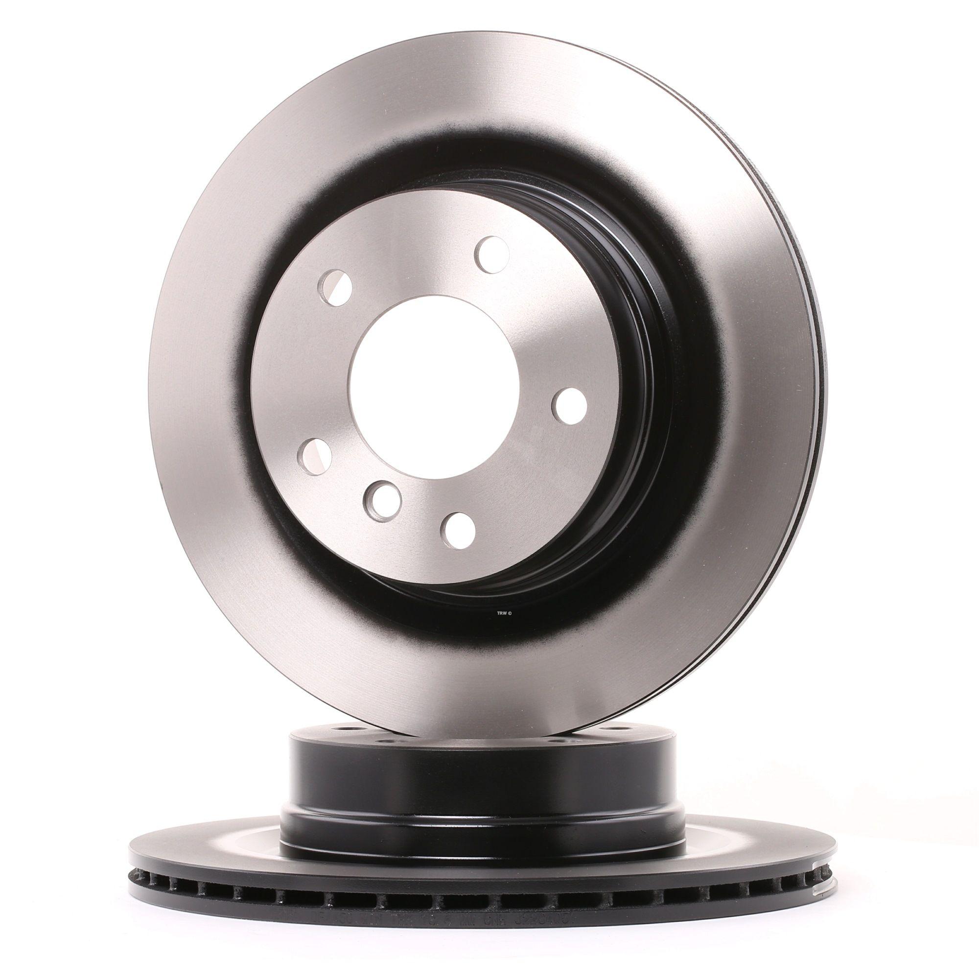 Origine Disques de frein TRW DF4450 (Ø: 300mm, Nbre de trous: 5, Épaisseur du disque de frein: 20mm)