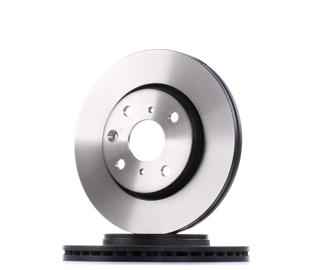 DF4469 TRW belüftet, lackiert Ø: 247mm, Lochanzahl: 4, Bremsscheibendicke: 20mm Bremsscheibe DF4469 günstig kaufen