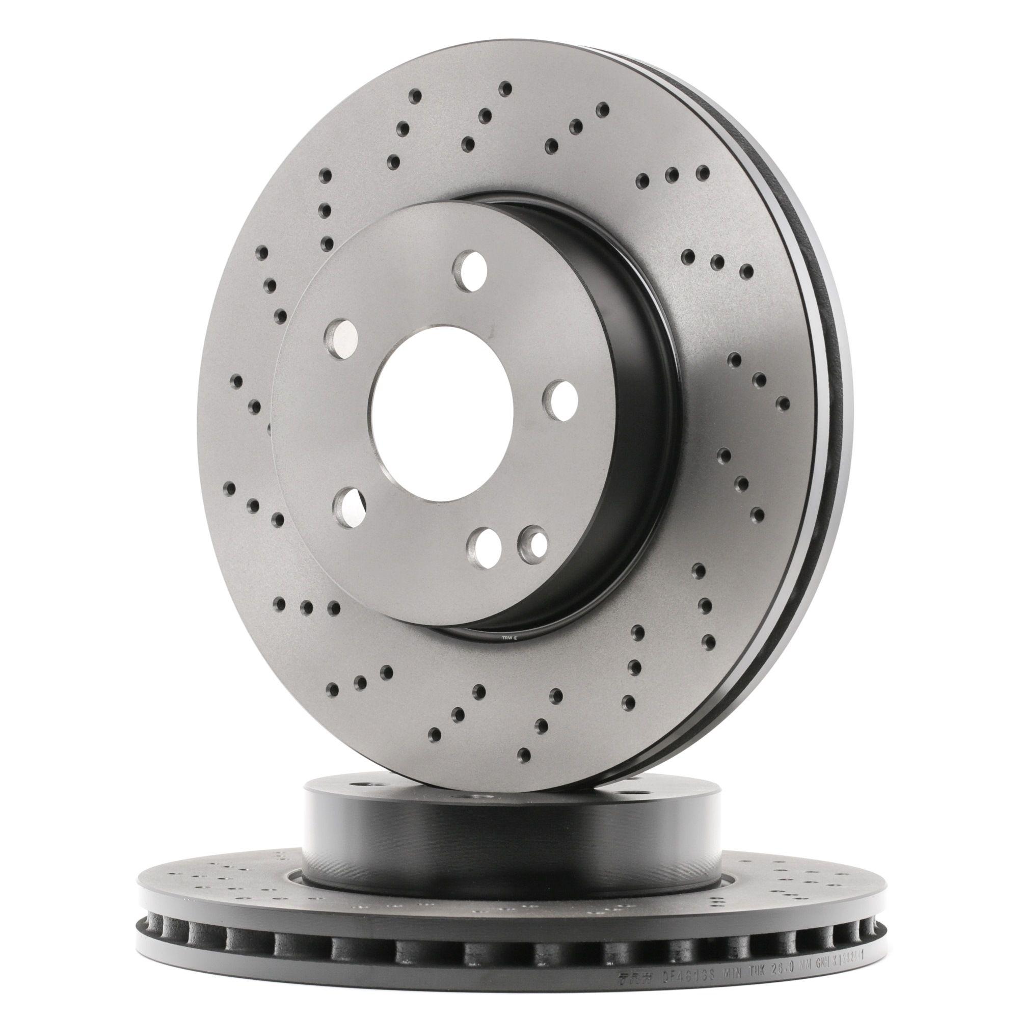 Origine Disque TRW DF4813S (Ø: 295mm, Nbre de trous: 5, Épaisseur du disque de frein: 28mm)