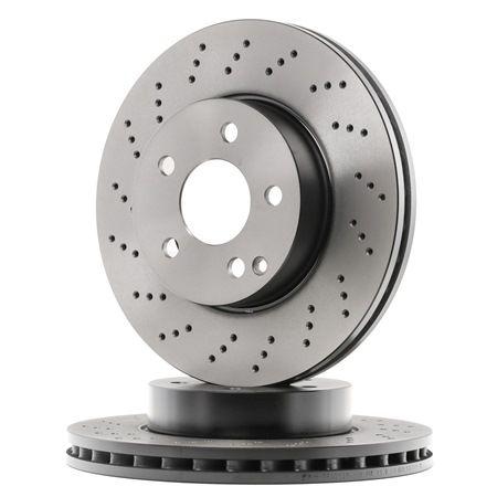 DF4813S TRW ventilado, Perfurado/interior ventilado, pintado Ø: 295mm, N.º de furos: 5, Espessura do disco de travão: 28mm Disco de travão DF4813S comprar económica