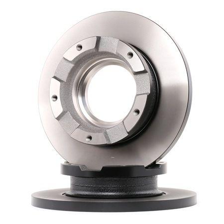 DF4821S TRW Cheio, pintado, com anel de sensor do ABS Ø: 280mm, N.º de furos: 5, Espessura do disco de travão: 16mm Disco de travão DF4821S comprar económica