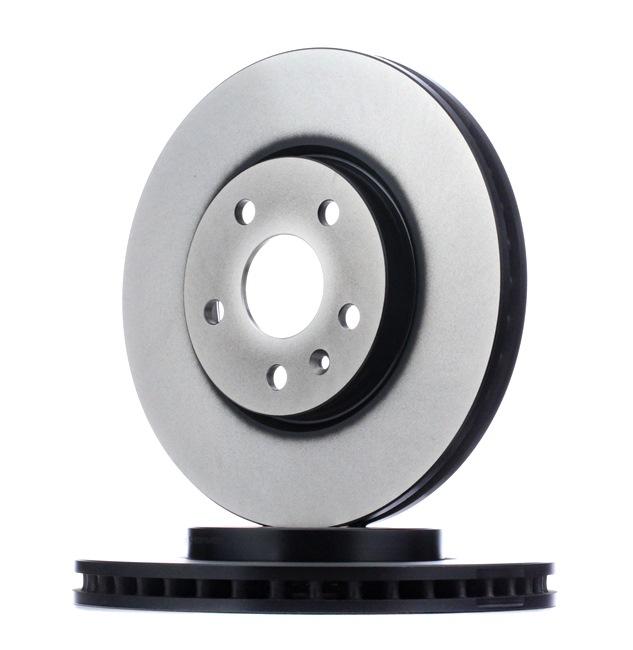 Original Комплект спирачни дискове DF4996S Опел