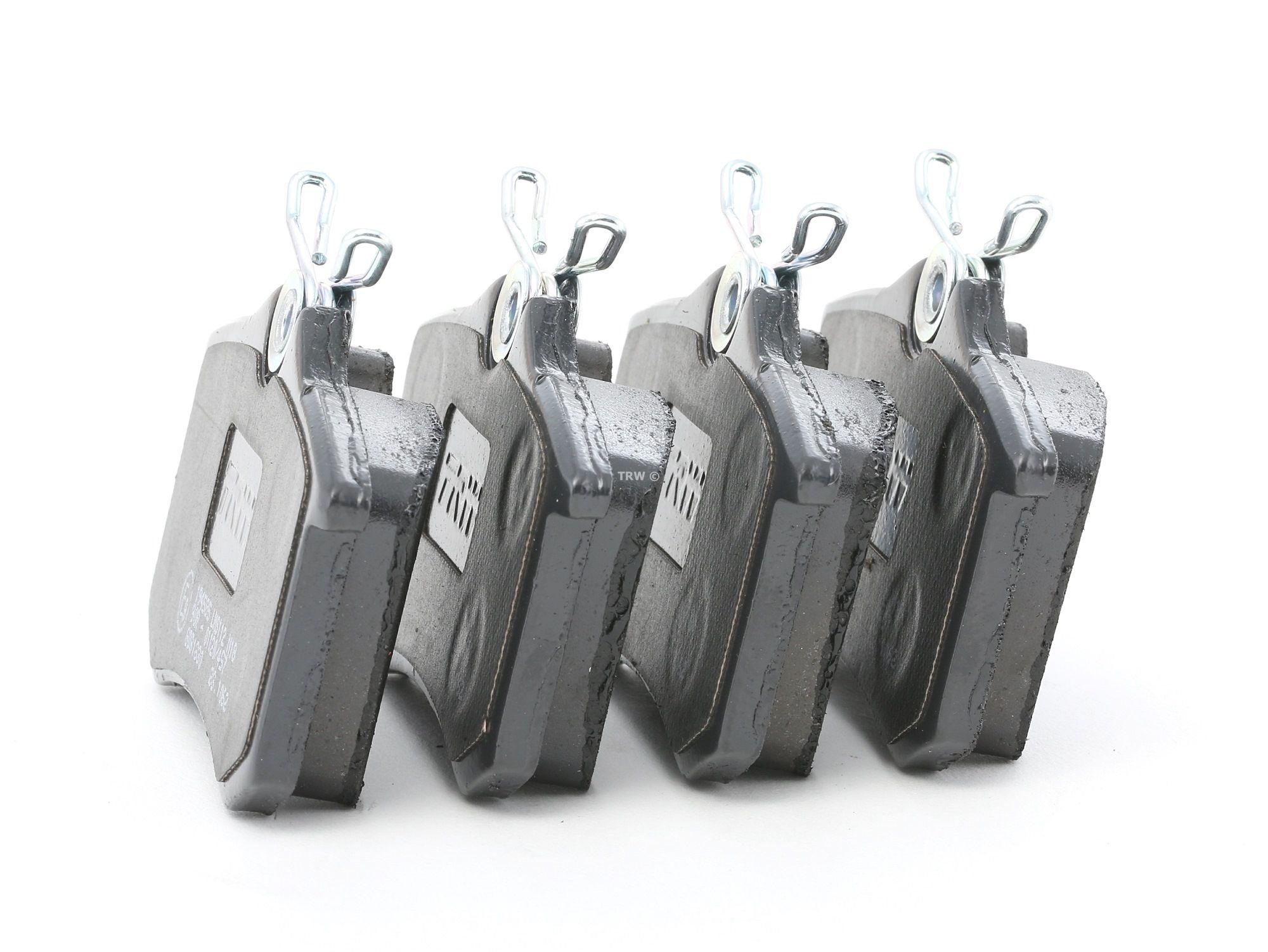20961 TRW COTEC nicht für Verschleißwarnanzeiger vorbereitet, mit Bremssattelschrauben, mit Zubehör Höhe: 52,9mm, Dicke/Stärke: 17,0mm Bremsbelagsatz, Scheibenbremse GDB1330 kaufen