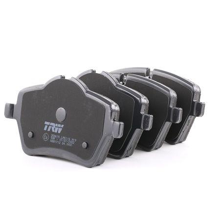 TRW: Original Bremsbeläge GDB1712 (Höhe: 64,0mm, Dicke/Stärke: 18,0mm)