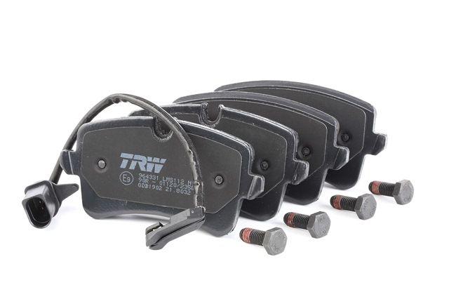 TRW: Original Bremsbeläge GDB1902 (Höhe 1: 58,8mm, Höhe 2: 60,0mm, Dicke/Stärke: 17,5mm) mit vorteilhaften Preis-Leistungs-Verhältnis