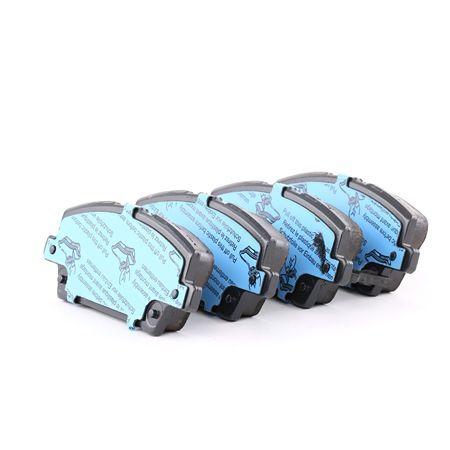 TRW Brake Pad Set, disc brake GDB3407