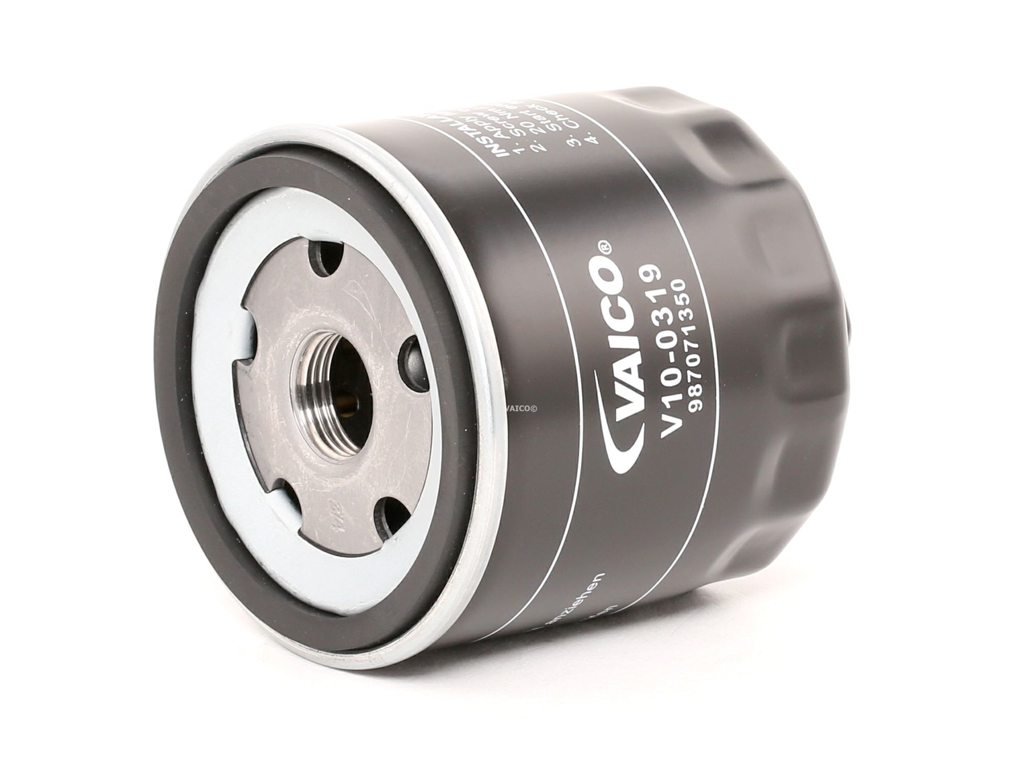 V10-0319 VAICO Anschraubfilter, mit einem Rücklaufsperrventil, Original VAICO Qualität Innendurchmesser 2: 62mm, Innendurchmesser 2: 71mm, Ø: 76mm, Ø: 80mm, Höhe: 79mm Ölfilter V10-0319 günstig kaufen