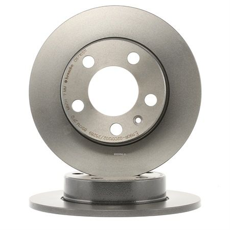 BREMBO Disco de travão 08.7165.11