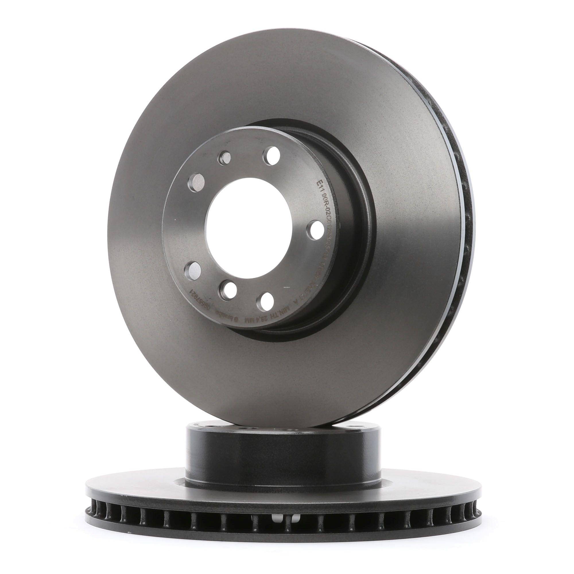 09.5579.21 BREMBO COATED DISC LINE Innenbelüftet, beschichtet, hochgekohlt, mit Schrauben Ø: 324mm, Lochanzahl: 5, Bremsscheibendicke: 30mm Bremsscheibe 09.5579.21 günstig kaufen