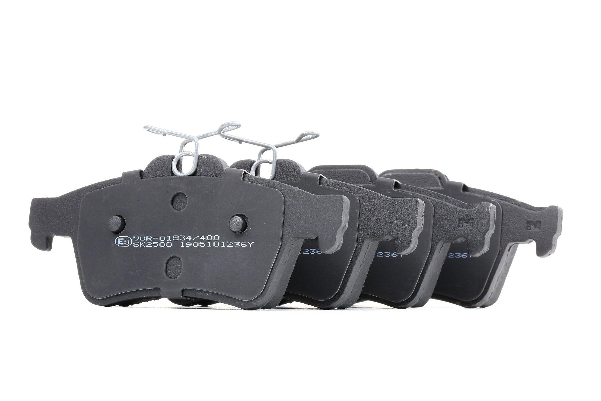 Achetez Kit de plaquettes de frein LPR 05P1236 (Hauteur: 51,9mm, Largeur: 123mm, Épaisseur: 16,6mm) à un rapport qualité-prix exceptionnel