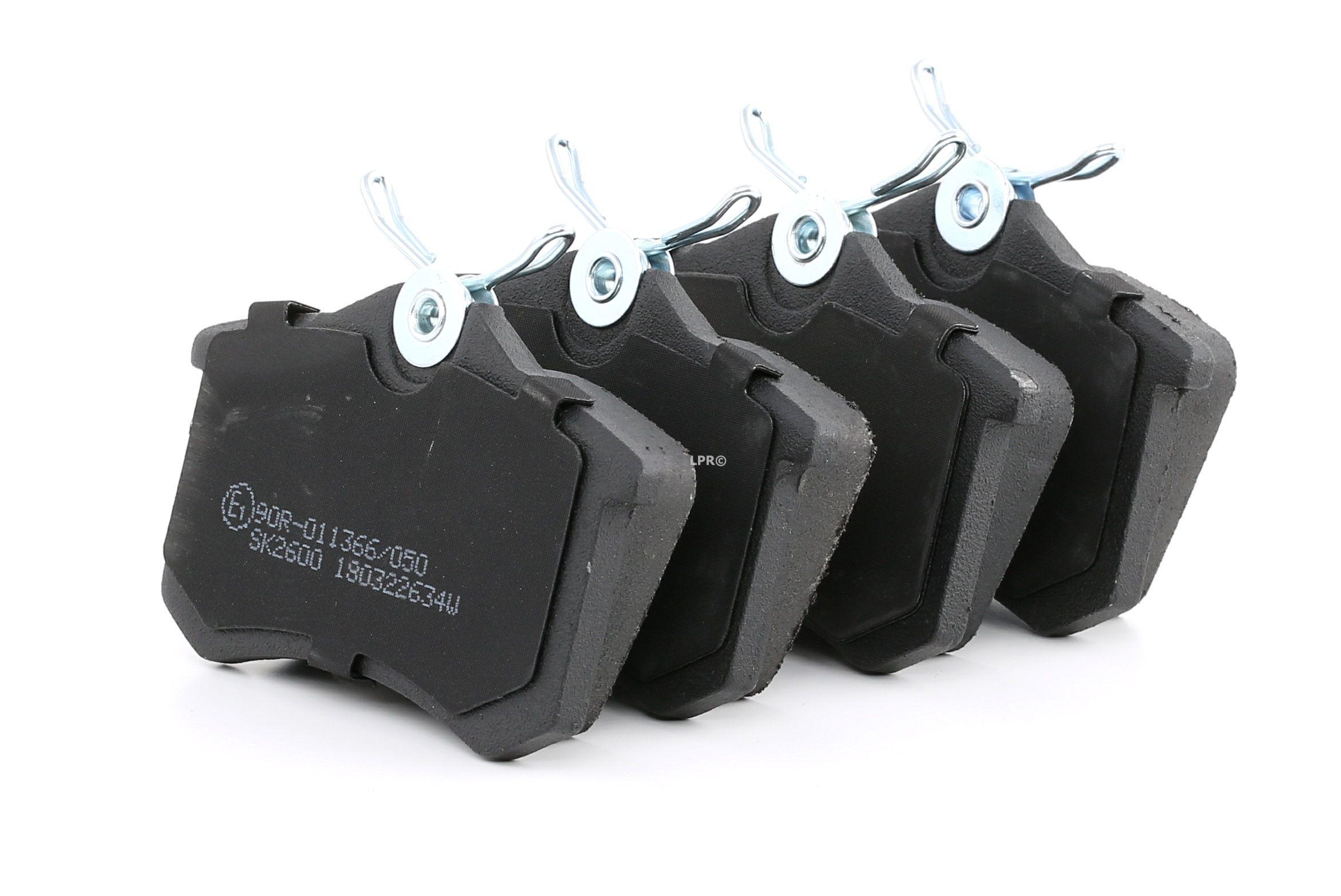 05P634 LPR mit Schrauben Höhe: 52,9mm, Breite: 87mm, Dicke/Stärke: 17mm Bremsbelagsatz, Scheibenbremse 05P634 günstig kaufen