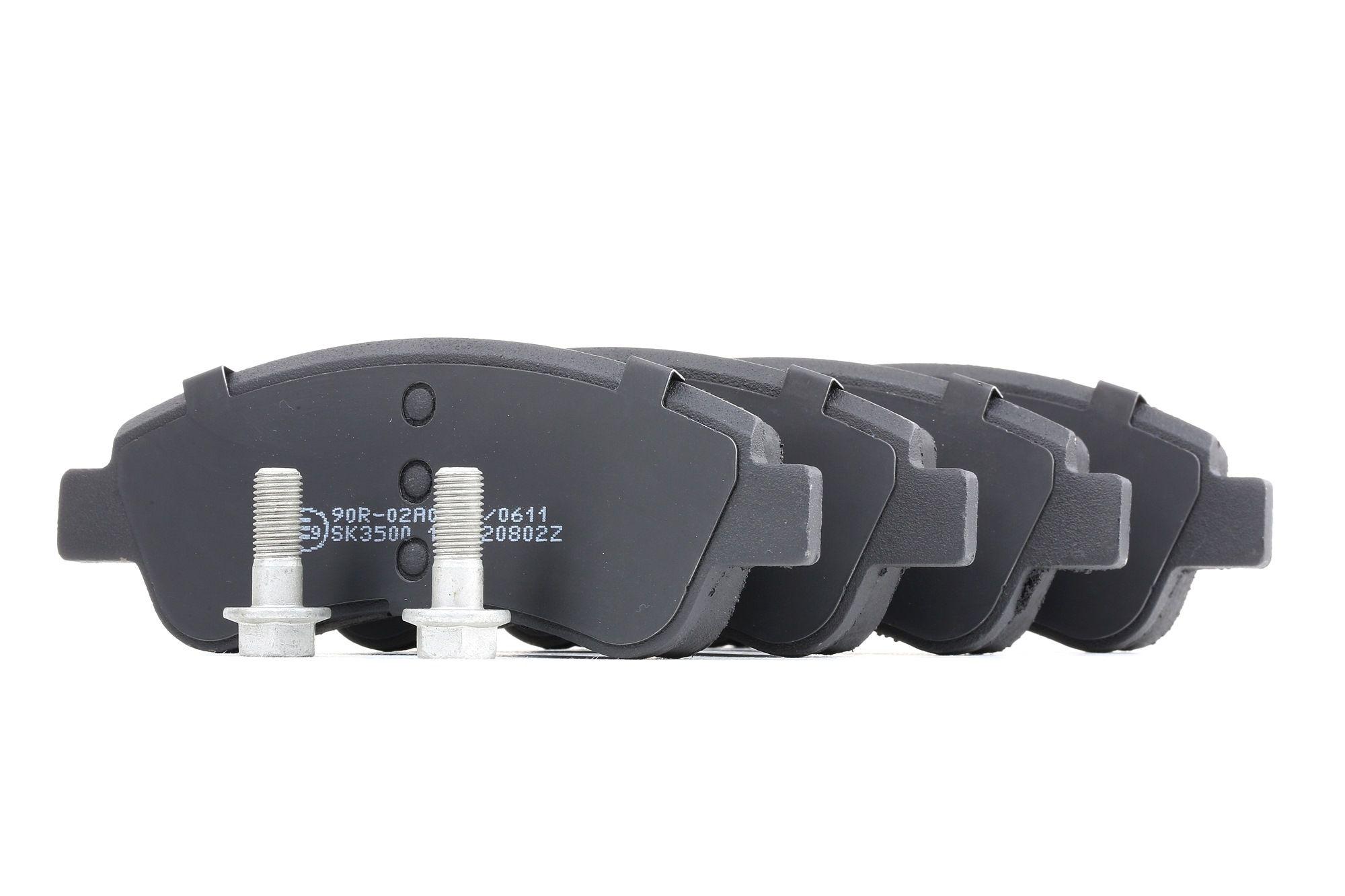 05P802 LPR mit Schrauben Höhe: 52mm, Breite: 137mm, Dicke/Stärke: 18,8mm Bremsbelagsatz, Scheibenbremse 05P802 günstig kaufen