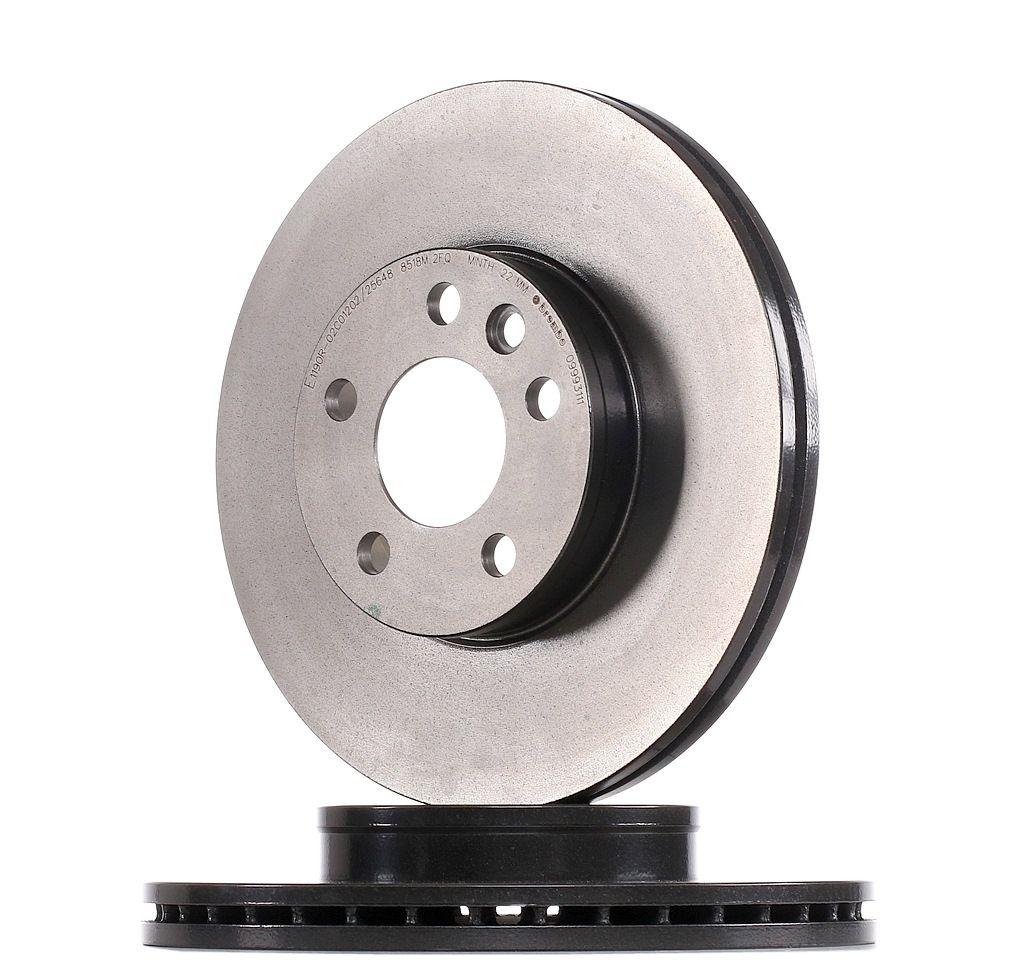 09.9931.11 BREMBO COATED DISC LINE Innenbelüftet, beschichtet Ø: 300mm, Lochanzahl: 5, Bremsscheibendicke: 26mm Bremsscheibe 09.9931.11 günstig kaufen