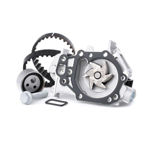 INA 530018230 : Pompe à eau + kits de courroies moteur pour Twingo c06 1.2 2000 58 CH à un prix avantageux