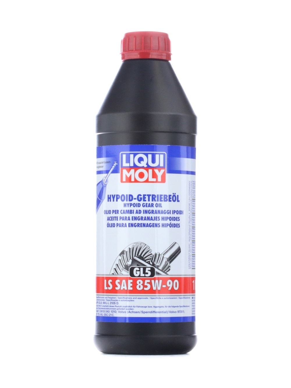 ZFTEML21C LIQUI MOLY Hypoid GL5, LS for hypoid gear transmission Axle Gear Oil 1410 cheap