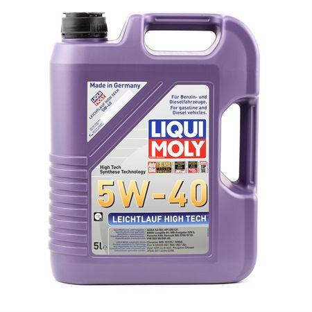 LIQUI MOLY Leichtlauf, High Tech 5W-40, 5l, Vollsynthetiköl Motoröl 3864 günstig