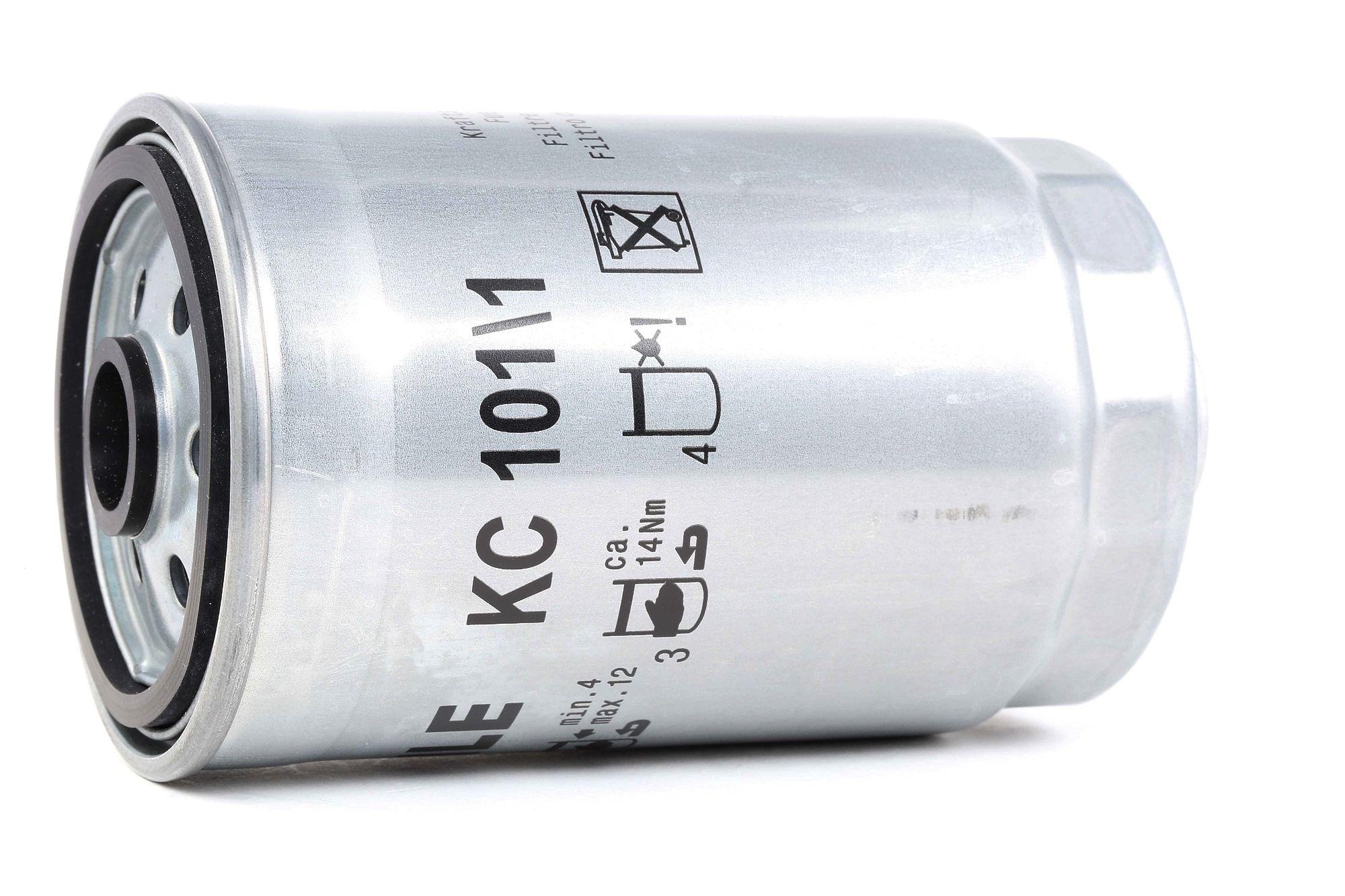 Palivový filtr KC 101/1 s vynikajícím poměrem mezi cenou a MAHLE ORIGINAL kvalitou