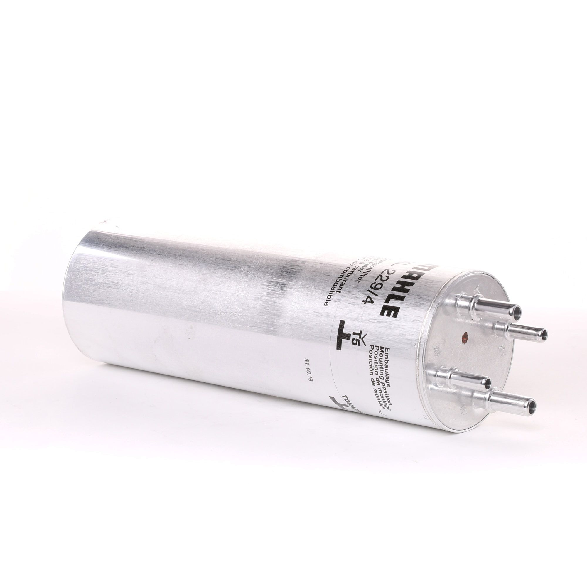 Palivový filtr KL 229/4 s vynikajícím poměrem mezi cenou a MAHLE ORIGINAL kvalitou