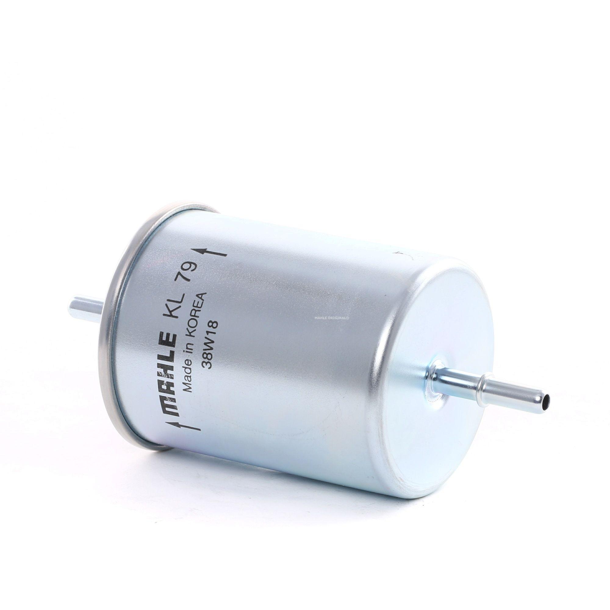 Palivový filtr KL 79 s vynikajícím poměrem mezi cenou a MAHLE ORIGINAL kvalitou