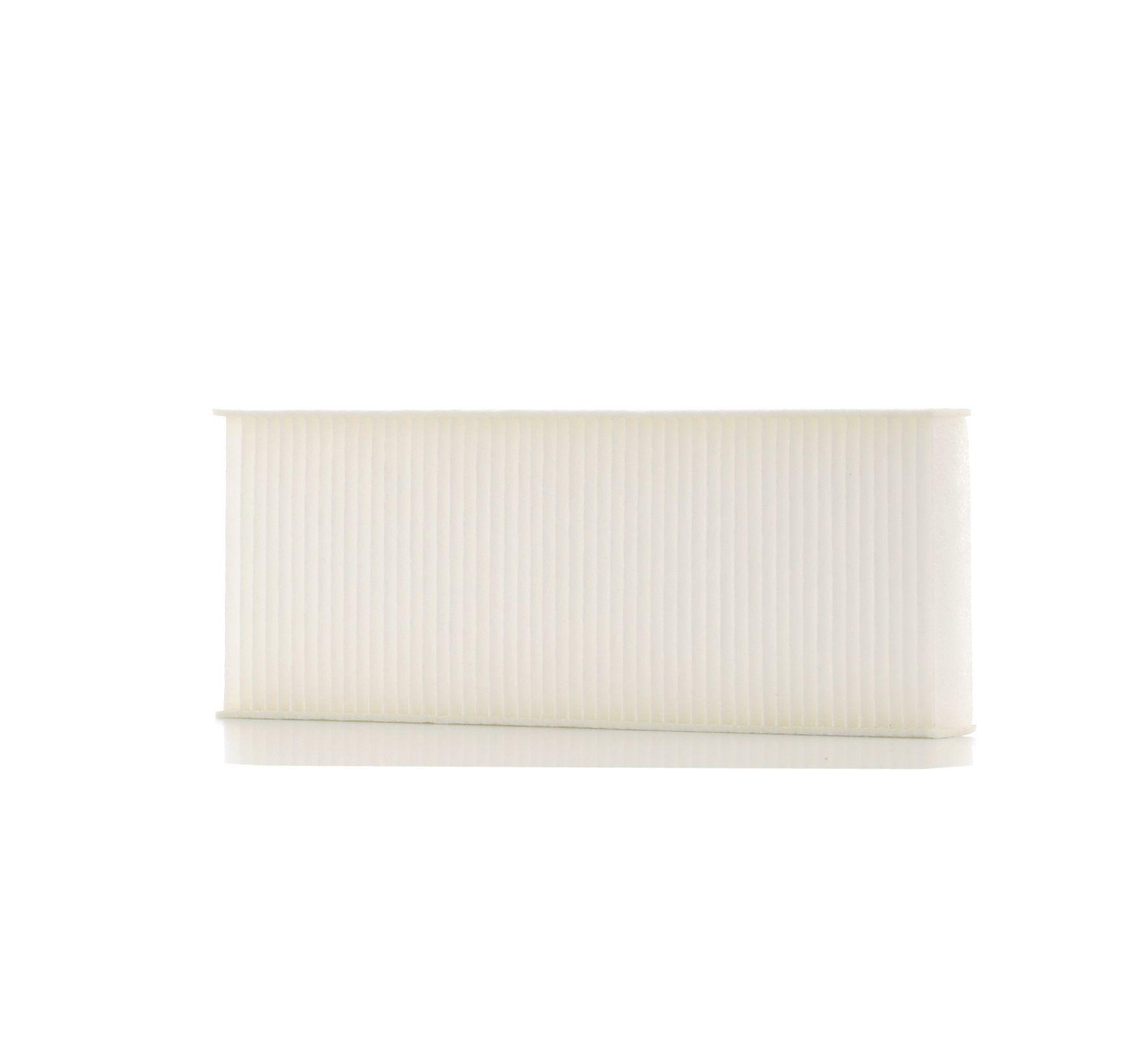 NISSAN PATHFINDER 2021 Pollenfilter - Original MAHLE ORIGINAL LA 289 Breite: 100, 100,0mm, Höhe: 25mm, Länge: 264mm
