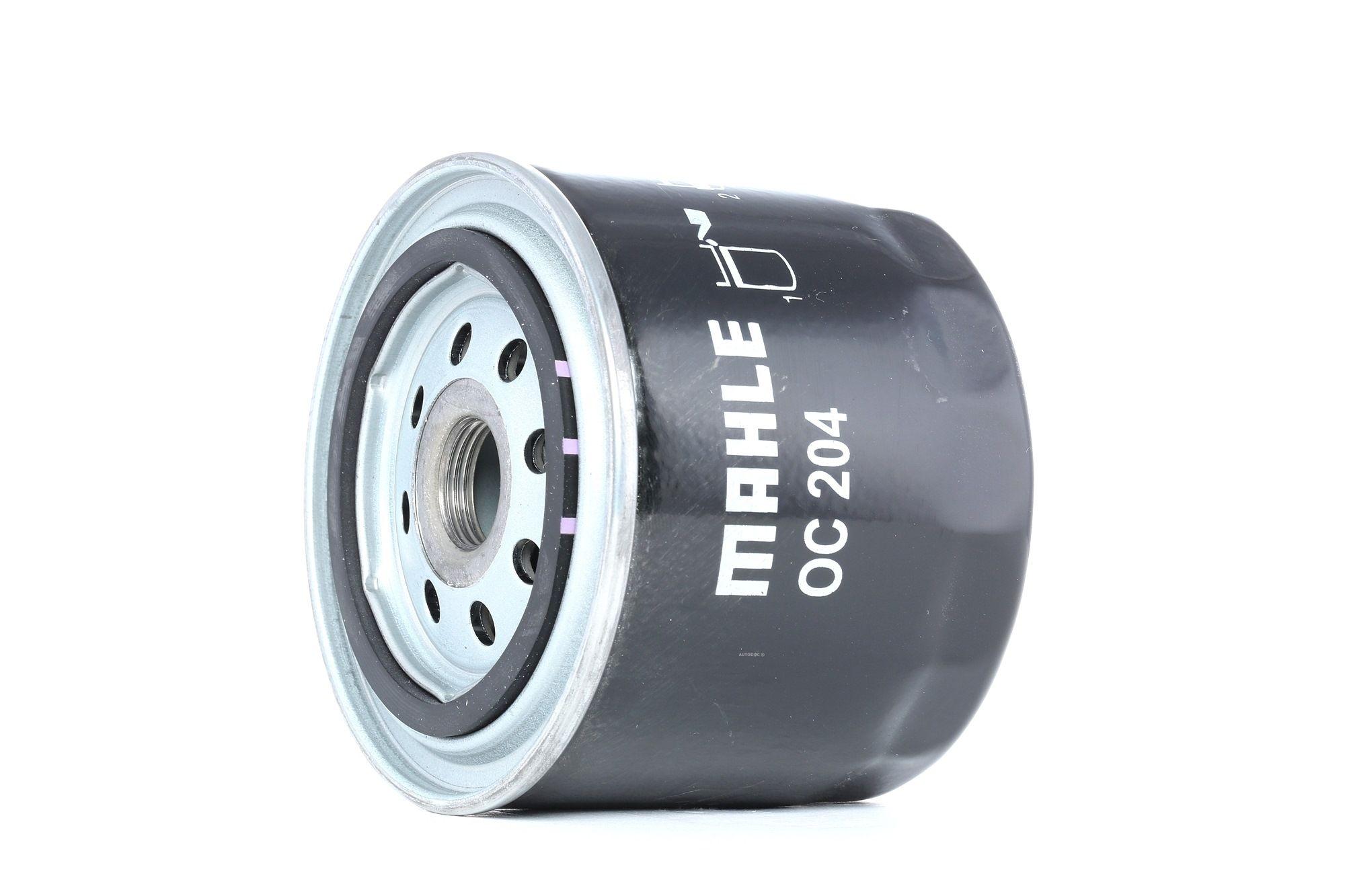 77493760 MAHLE ORIGINAL Skruvfilter Innerdiameter 2: 62mm, Ytterdiameter 2: 72mm, Ø: 93,2mm, H: 81mm Oljefilter OC 204 köp lågt pris