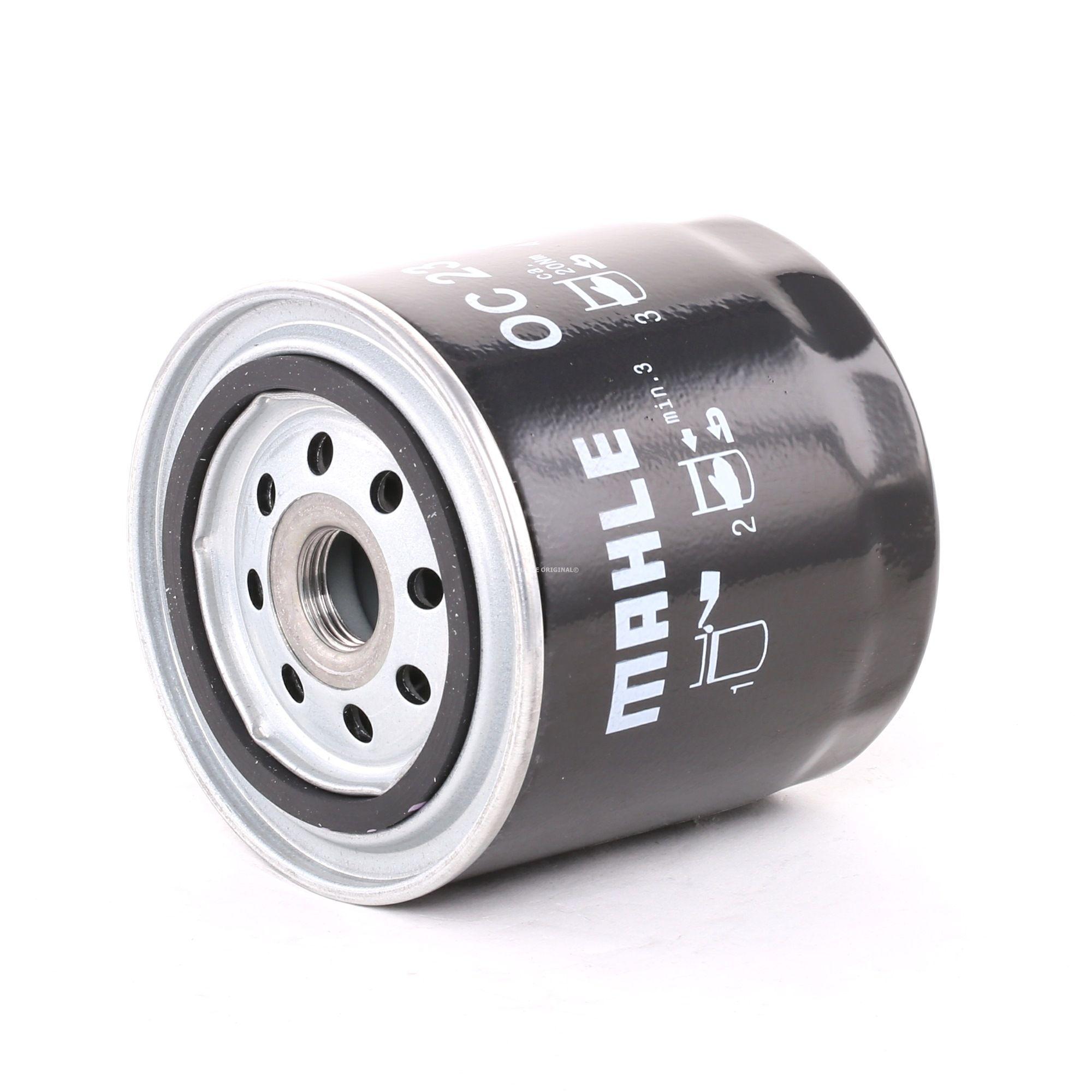 MAHLE ORIGINAL: Original Ölfilter OC 23 (Innendurchmesser 2: 62mm, Innendurchmesser 2: 62mm, Ø: 93,2mm, Außendurchmesser 2: 72mm, Ø: 93,2mm, Höhe: 96mm)