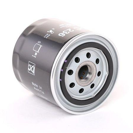 78758740 MAHLE ORIGINAL Anschraubfilter Innendurchmesser 2: 62,0mm, Innendurchmesser 2: 61,0mm, Ø: 93,2mm, Höhe: 96,0mm Ölfilter OC 236 günstig