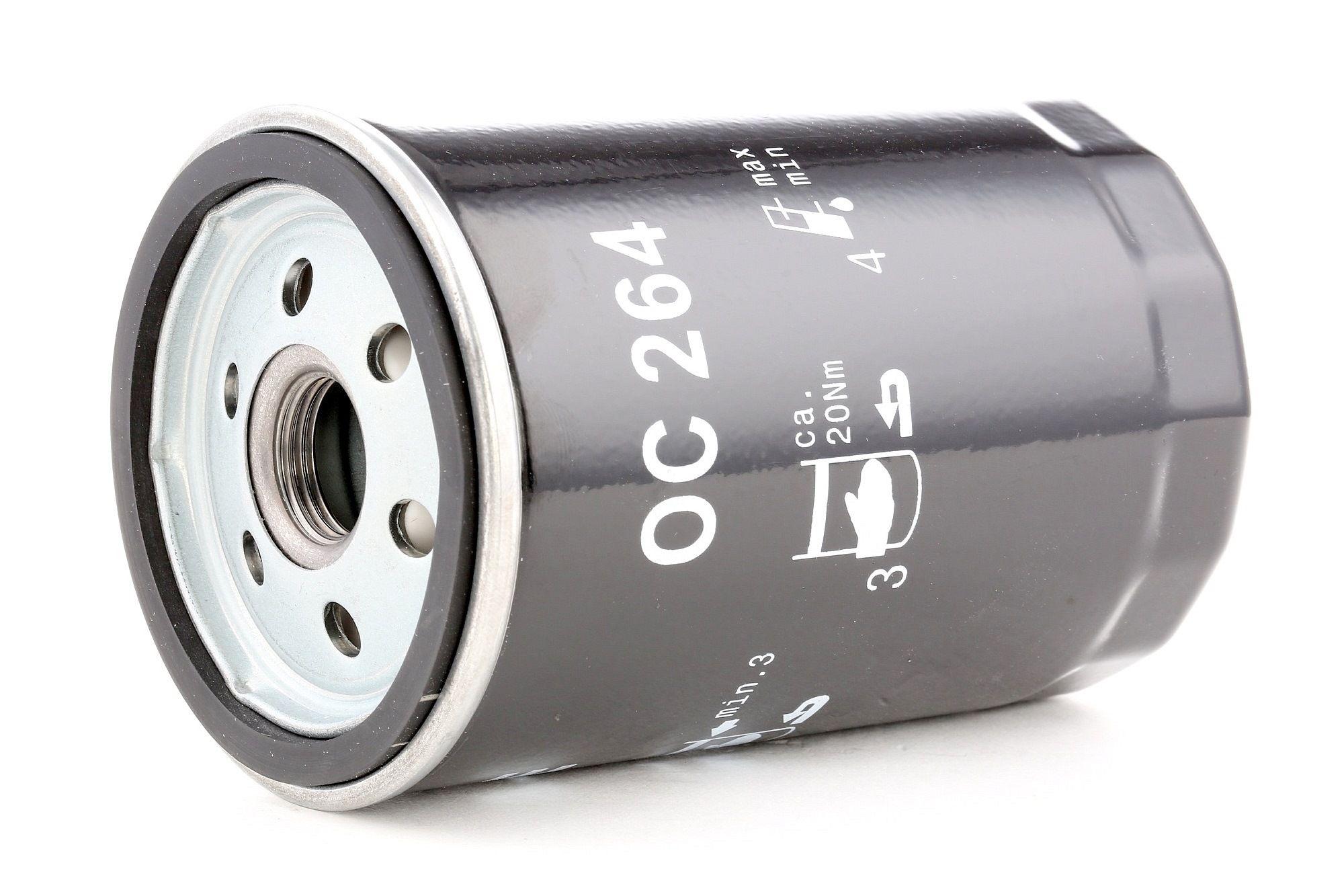 79932303 MAHLE ORIGINAL Skruvfilter Innerdiameter 2: 62mm, Ytterdiameter 2: 72mm, Ø: 76,0mm, H: 120mm Oljefilter OC 264 köp lågt pris
