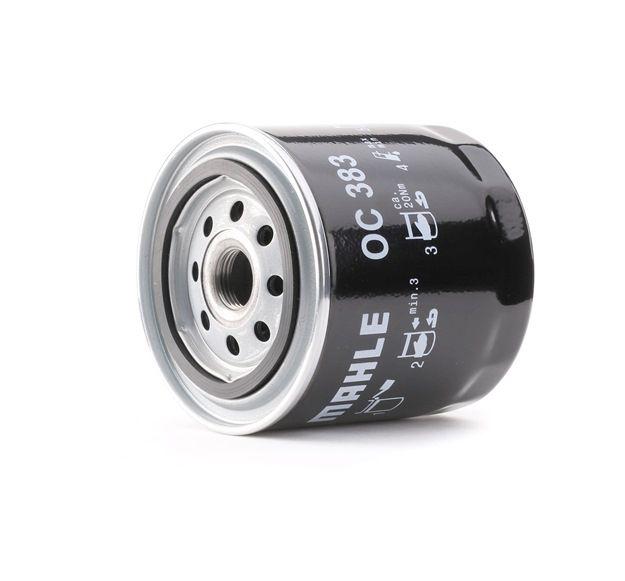 MAHLE ORIGINAL: Original Motorölfilter OC 383 (Innendurchmesser 2: 62mm, Innendurchmesser 2: 62mm, Ø: 93,2mm, Außendurchmesser 2: 72mm, Ø: 93,2mm, Höhe: 96mm)