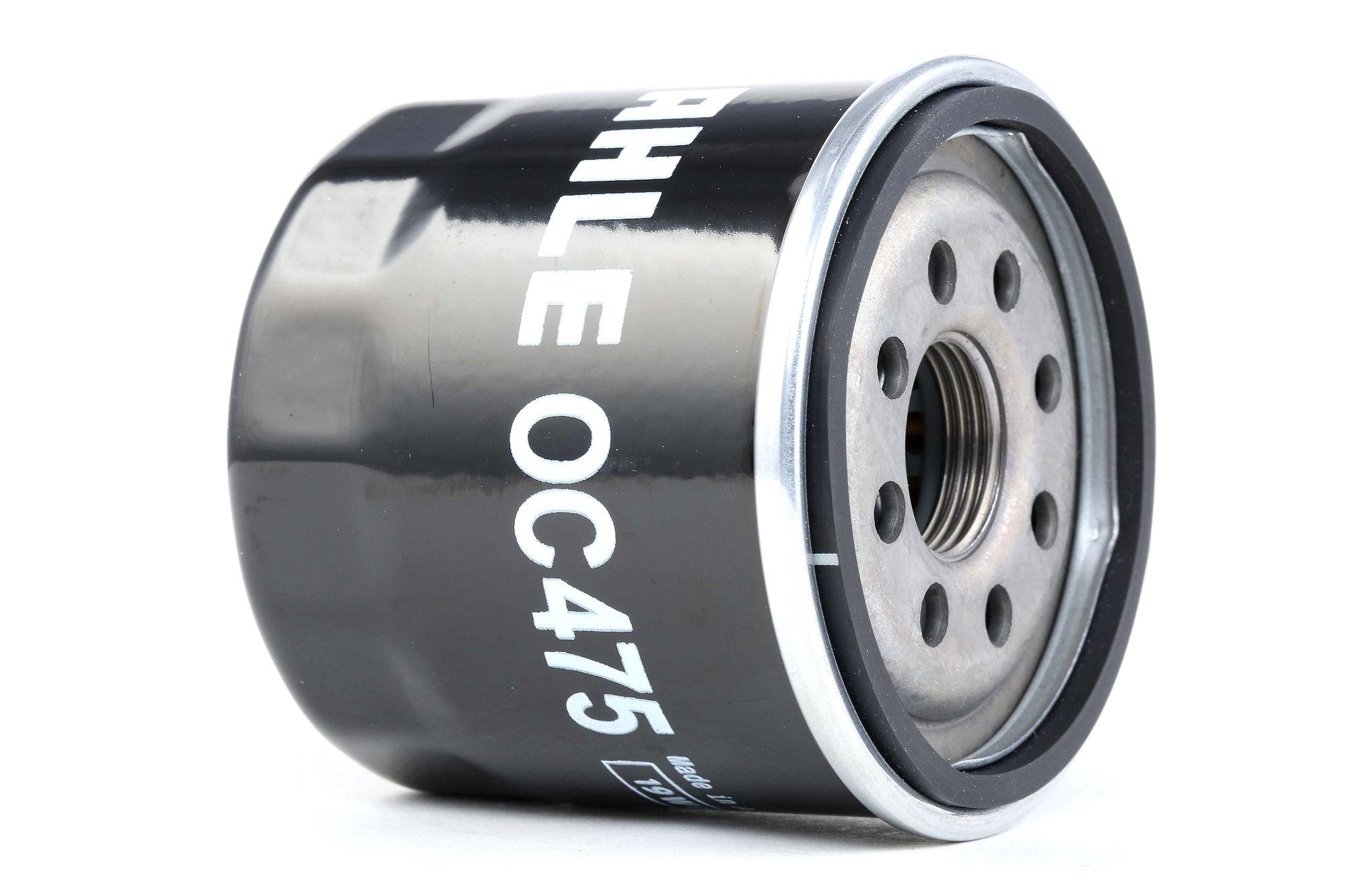Origine Filtre à huile MAHLE ORIGINAL OC 475 (Ø: 65,5mm, Ø: 65,5mm, Hauteur: 65, 66mm)