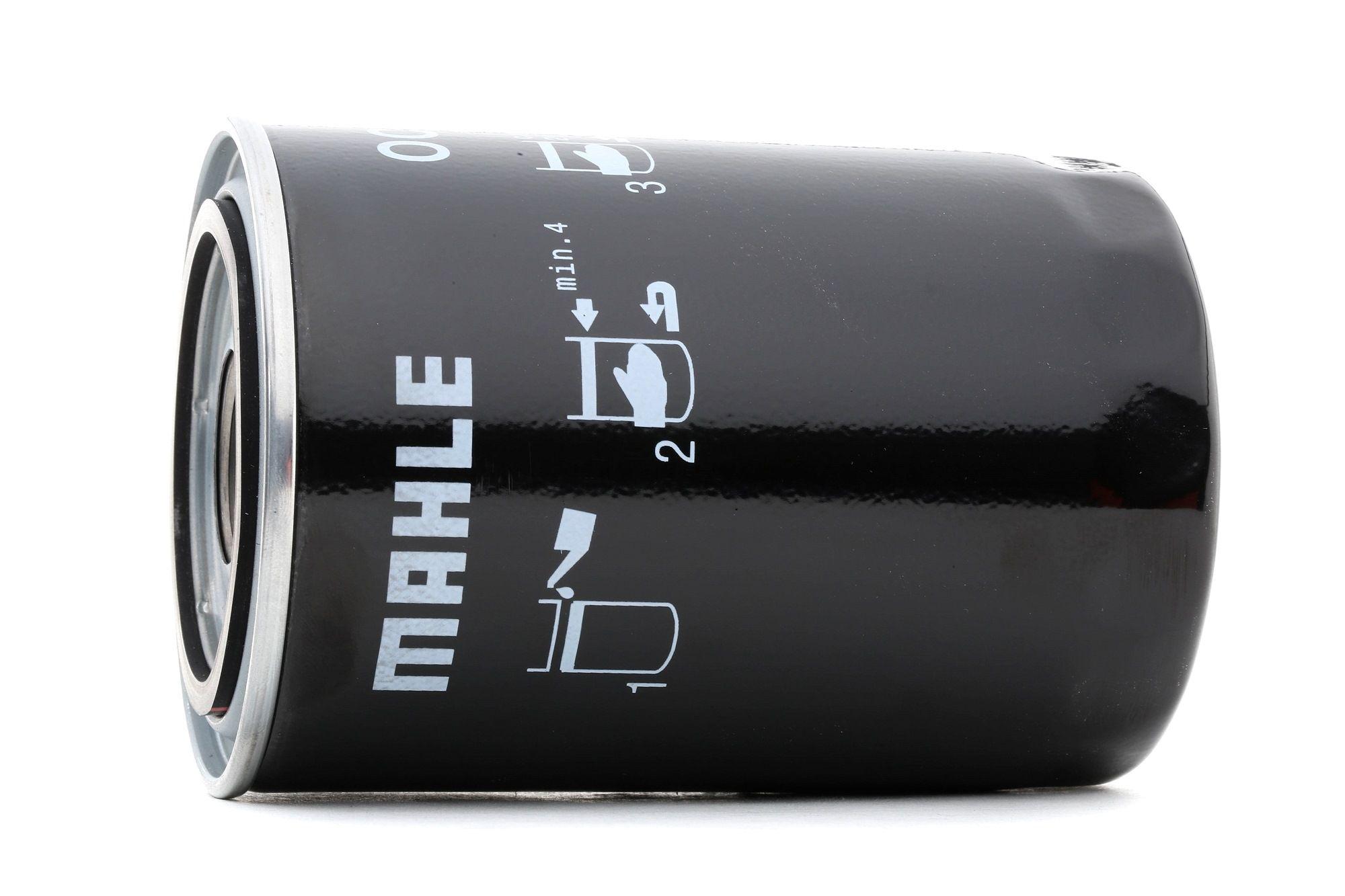 77642499 MAHLE ORIGINAL Anschraubfilter Innendurchmesser 2: 62mm, Innendurchmesser 2: 62mm, Ø: 93,2mm, Außendurchmesser 2: 72mm, Ø: 93,2mm, Höhe: 141mm Ölfilter OC 54 günstig kaufen