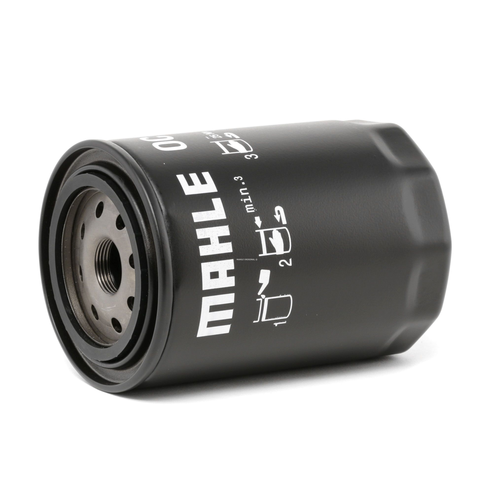 MAHLE ORIGINAL: Original Motorölfilter OC 613 (Ø: 96,0mm, Ø: 96,0mm, Höhe: 141, 143mm)