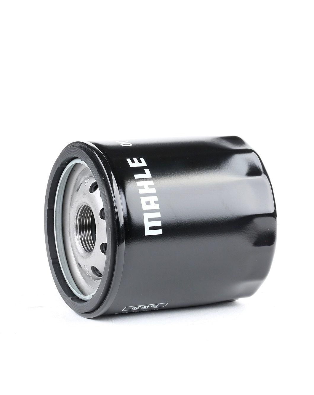 MAHLE ORIGINAL: Original Motorölfilter OC 614 (Ø: 76,0mm, Ø: 76,0mm, Höhe: 85mm)