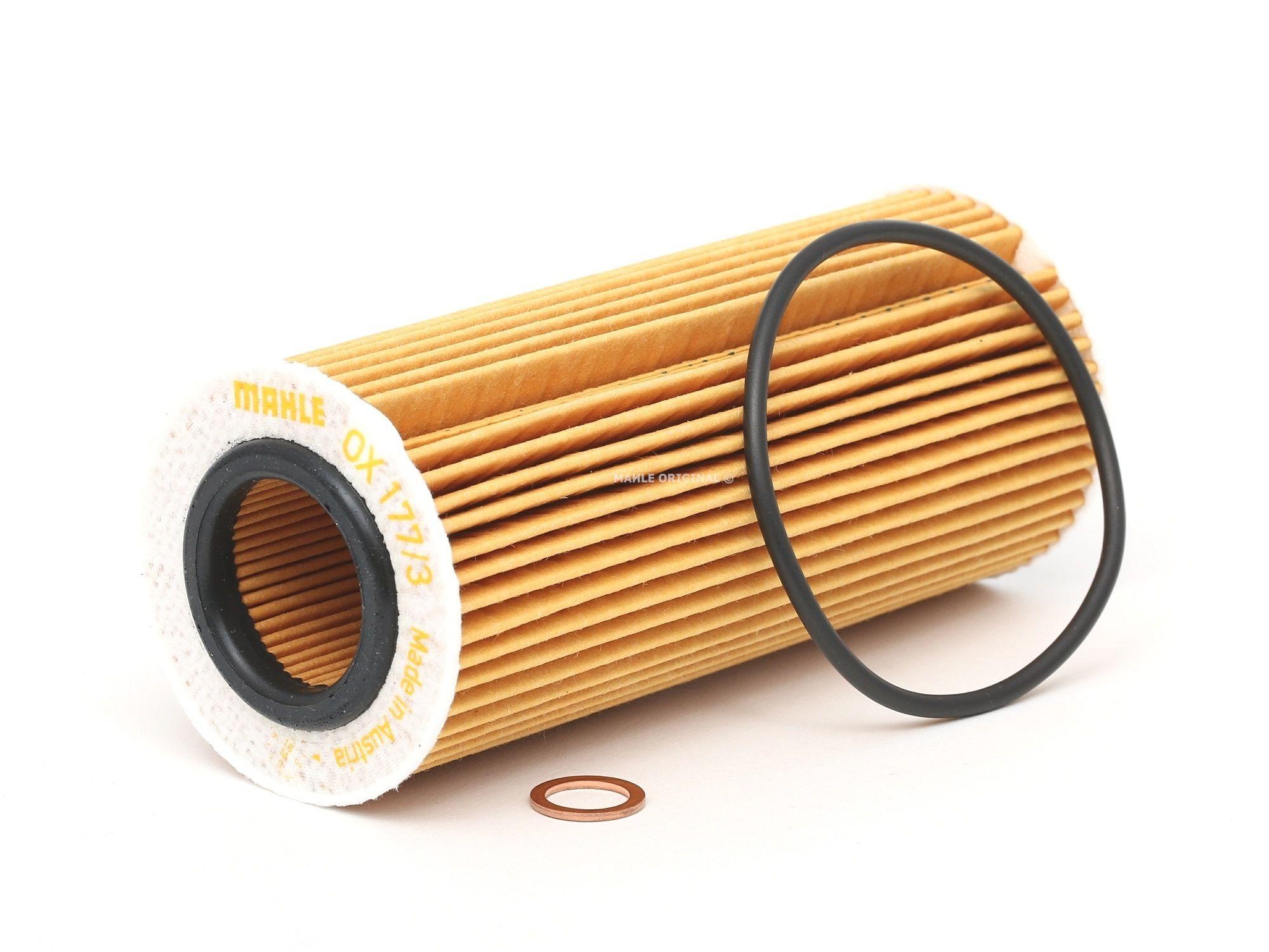 79929250 MAHLE ORIGINAL Filtereinsatz Innendurchmesser 2: 32mm, Ø: 64,5mm, Ø: 64,5mm, Höhe: 153mm, Höhe 1: 149mm Ölfilter OX 177/3D günstig kaufen