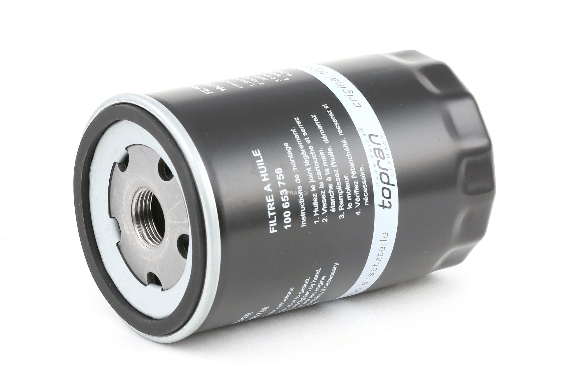 Motorölfilter TOPRAN 100 653