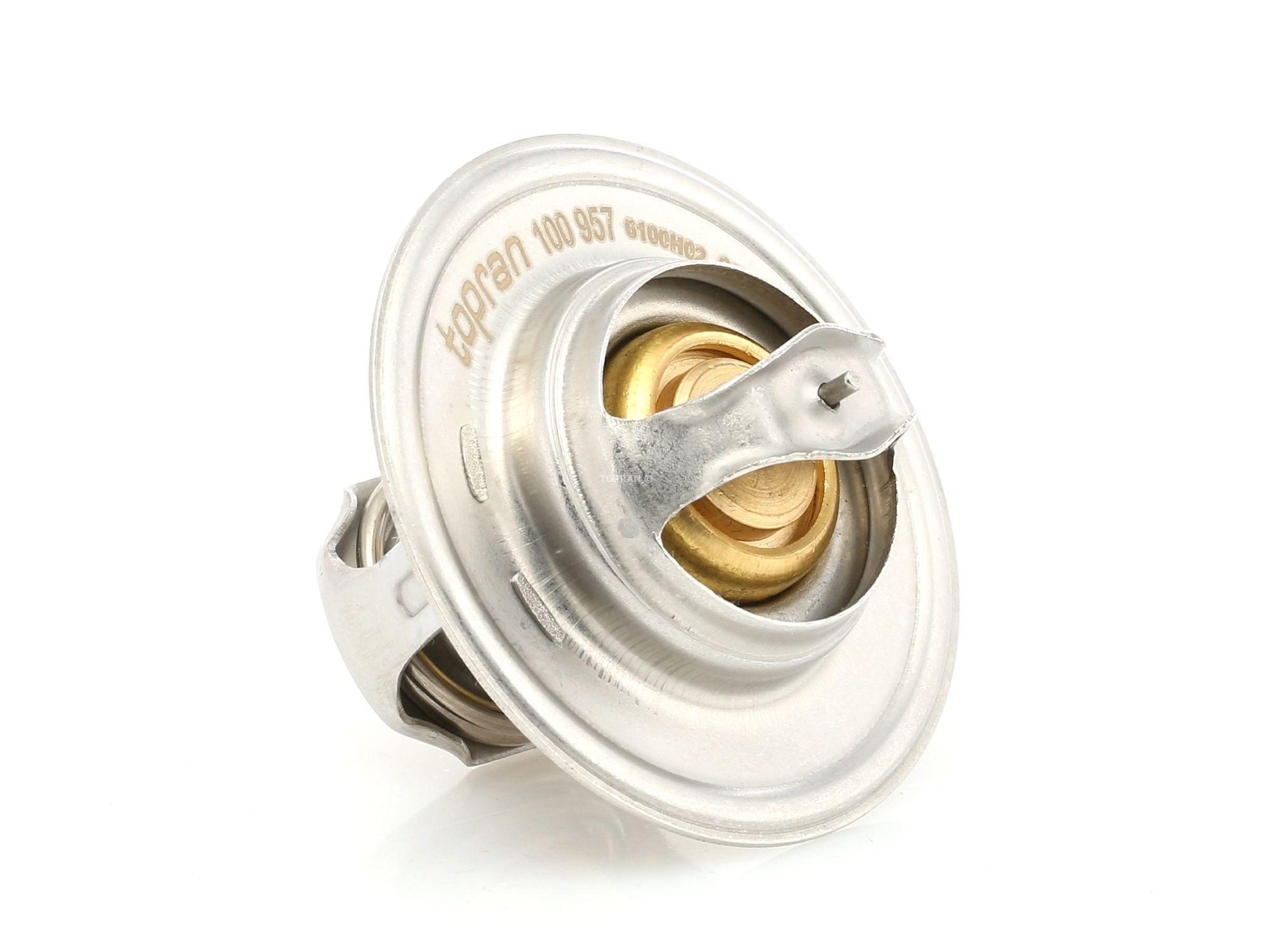 100 957 TOPRAN Öffnungstemperatur: 87°C, mit Dichtung Thermostat, Kühlmittel 100 957 günstig kaufen