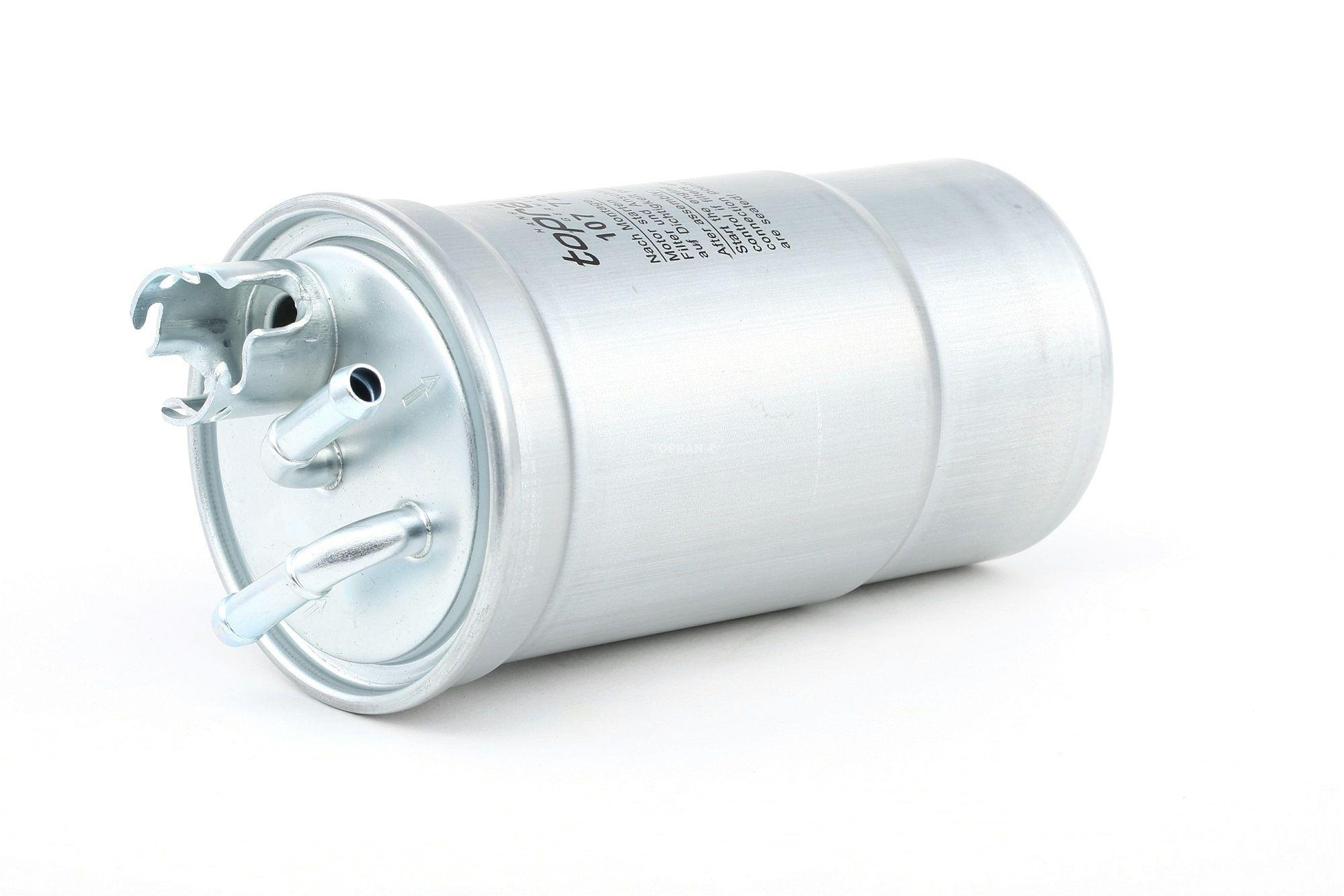 Palivový filtr 107 725 s vynikajícím poměrem mezi cenou a TOPRAN kvalitou