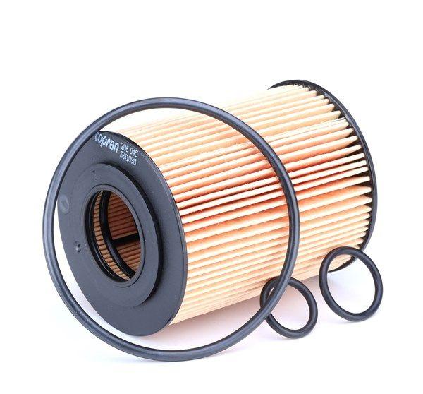 206 045 TOPRAN mit Dichtungen, Filtereinsatz Ø: 72mm, Höhe: 92mm Ölfilter 206 045 günstig kaufen