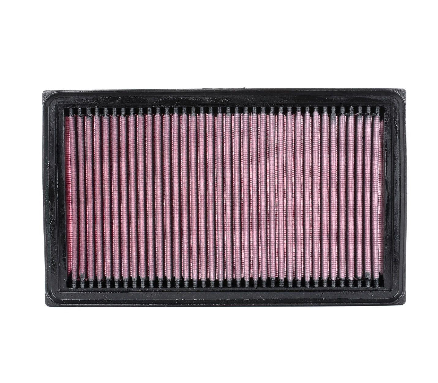 Zracni filter 33-2031-2 z izjemnim razmerjem med K&N Filters ceno in zmogljivostjo