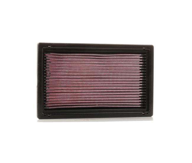 K&N Filters: Original Motorluftfilter 33-2075 (Länge: 282mm, Breite: 167mm, Höhe: 30mm)
